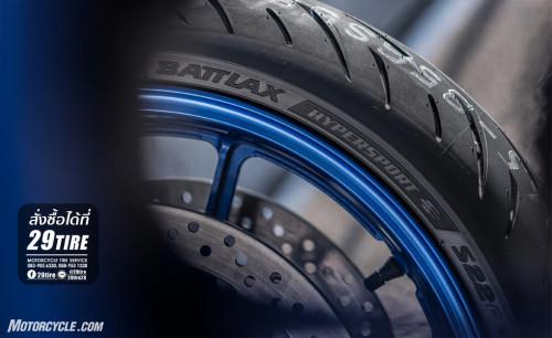 ยาง Bridgestone รุ่น BATTLAX S22 3