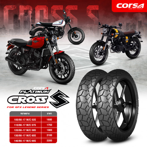 ยาง Corsa รุ่น Cross-S Platinum 4