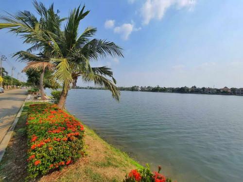 (บ้านเช่าไปแล้ว)บ้านเช่ามีนบุรี/บ้านเดี่ยวให้เช่าถูกติดทะเลสาบขนาดใหญ่ ม.ศุภาลัยแกรนด์เลค สุวินทวงศ์
