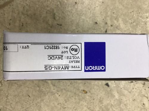OMRON MY4N-GS 24VDC ราคา 138 บาท