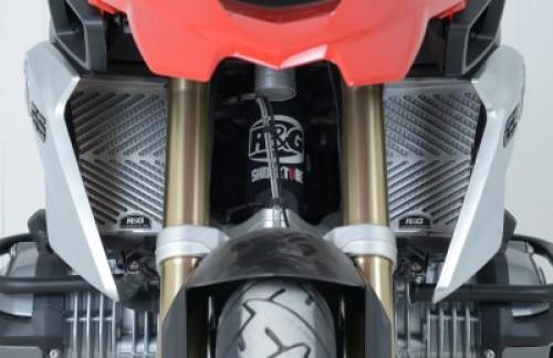 การ์ดหม้อน้ำ R&G สำหรับ R1200GS/GSa   R1250GS/GSA  แสตนเลส แข็งแรง ระบายความร้อนได้ดี