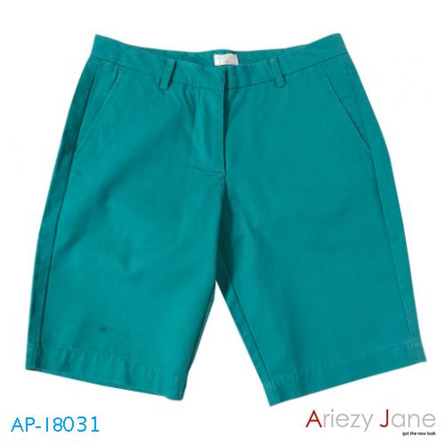 กางเกงขาสั้น 2ส่วน เขียว AP-18031