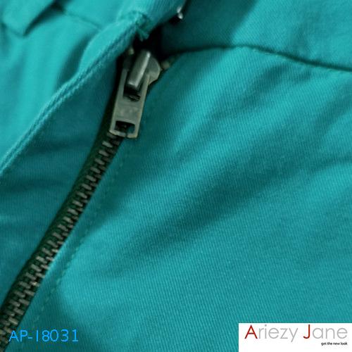 กางเกงขาสั้น 2ส่วน เขียว AP-18031 1