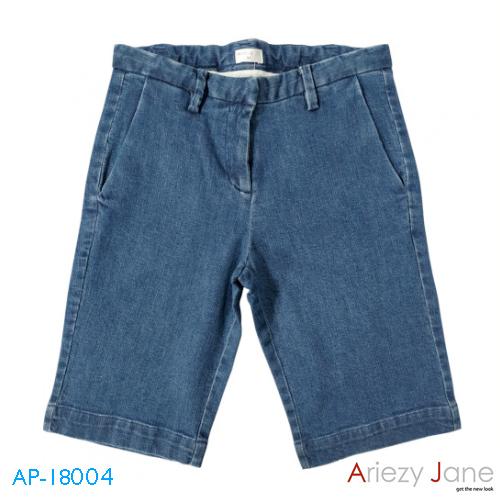 กางเกง2ส่วน ยีนส์ยืด AP-18004