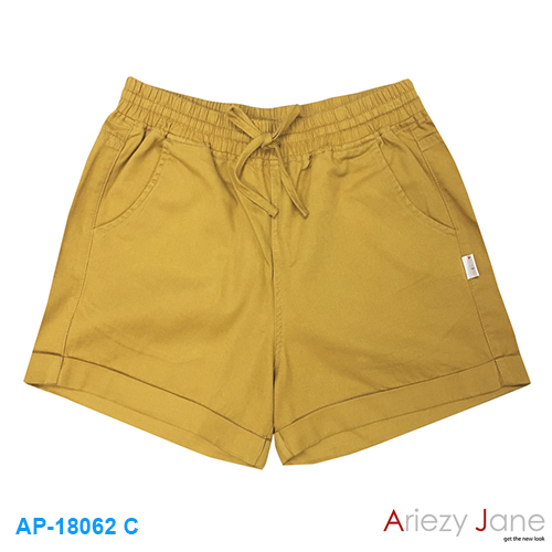 กางเกงขาสั้น 100% cotton  twill brush AP-18062 C