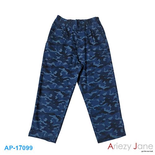 กางเกง5ส่วน ลายทหาร AP-17099