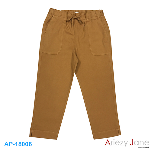 กางเกง5ส่วน สีน้ำตาลทอง SPD AP-18006