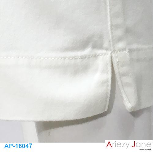กางเกง 5 ส่วนผ่าข้างปลายขา AP-18047 1