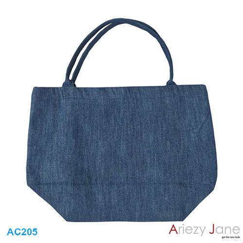 กระเป๋า ทรงยาวผ้ายีนส์ AC-205