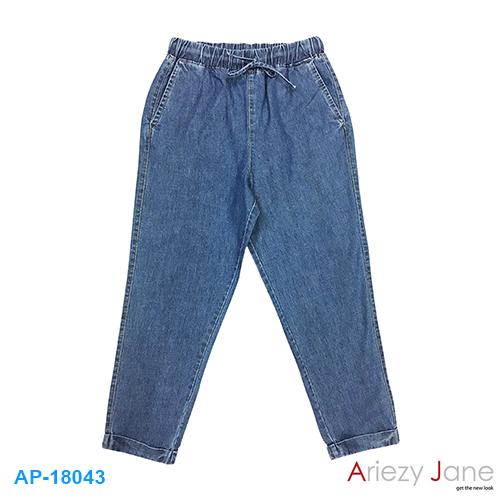 กางเกง 7 ส่วน ผ้ายีนส์สลาฟ AP-18043