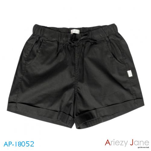 กางเกงขาสั้น สีดำ AP-18052