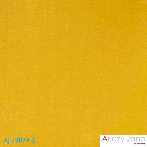 เสื้อคอจีน เจาะสาป แขนยาว สีเหลือง AJ-18074 B 1