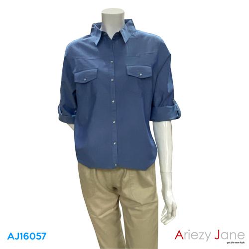 เสื้อเชิ้ต แขนยาว  AJ-16057