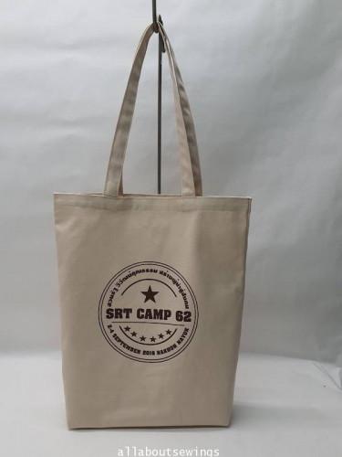 ถุงผ้าดิบช๊อปปิ้ง เเคนวาส - SRT Camp 62_Copy
