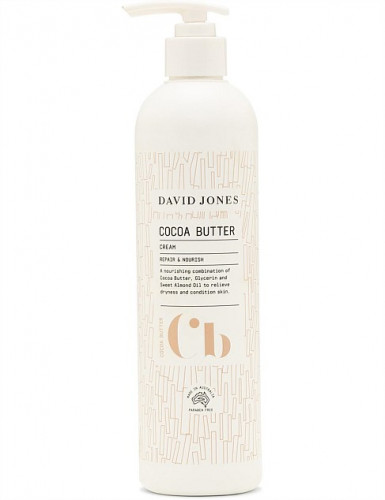 ครีมทาผิว โคโคบัตรเตอร์ เดวิด โจนส์ ขนาด 500ML : COCOA BUTTER BODY CLEANSER 500ML