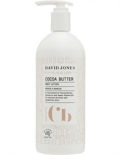 COCOA BUTTER BODY LOTION 500ML  DAVID JONES : โคโคบัตเตอร์บอดี้โลชั่น เดวิด โจนส์