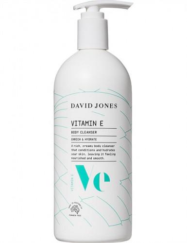 VITAMIN E BODY CLEANSER 500ML ครีมอาบน้ำ วิตามิน อี ของเดวิคโจนส์ : David Jones