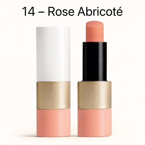 NEW HERMÈS Tinted lip balm สี 14 Rose Abricoté ลิปบาล์มสีสุดหรูจาก HERMÈS