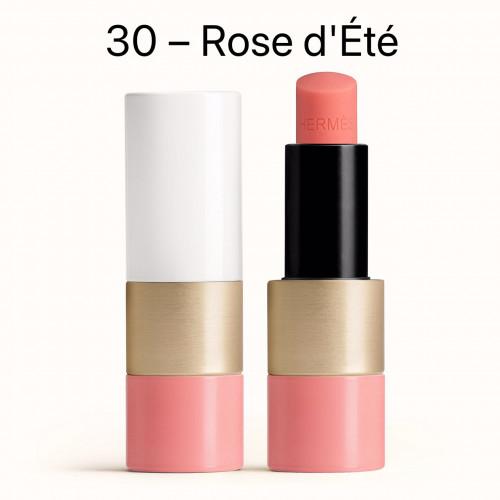 NEW HERMÈS Tinted lip balm สี 30 Rose d'Été ลิปบาล์มสีสุดหรูจาก HERMÈS