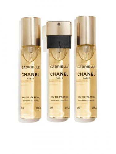 NEW CHANEL Gabrielle Chanel Eau De Parfum Twist And Spray 3x20 ml.
