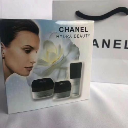 Chanel hydra beauty set 3 pcs. ผลิตภัณฑ์บำรุงผิวเพื่อผิวชุ่มชื้นเปล่งประกาย (มีถุงห้างแถม)
