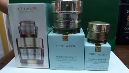 Estée Lauder Revitalizing Supreme+ For Face and Eyes ชุดบำรุงผิวหน้าไซค์พิเศษ 2 ชิ้น