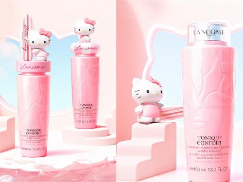 Lancome Tonique Confort x Hello Kitty  โทนเนอร์ประบสภาพผิวหน้า ขนาด 400ml. มี 2 หัวให้เลือก