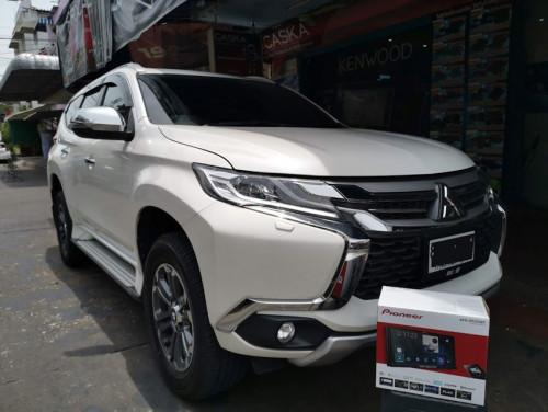 Mitsubishi Pajero Sport ติดตั้งจอใหม่ ไฉไลกว่าเดิมเย๊อะ !! ใช้กันยาวๆไป เพลิดเพลินได้ทั้งคัน  จอใช้