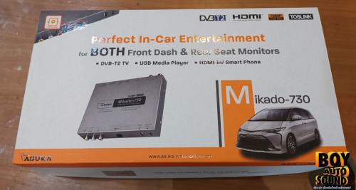 ทีวีดิจิตอล  กล่องรับสัญญาณ TUNER TV Digital ASUKA Mikado-730 รับสัญญาณแรงสุดในท้องตลาด รถวิ่งเร็วสั