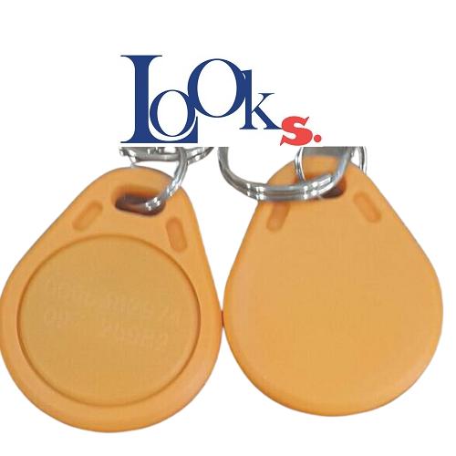 TAG RFID สีเหลือง หยดน้ำ Access coin 125KHz.