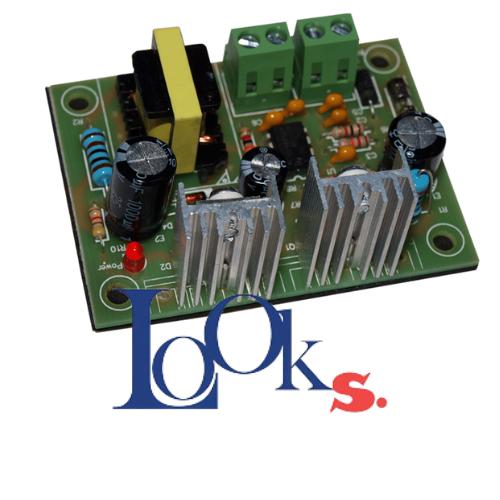โมดูลสวิตซ์แรงดันไฟฟ้า 36-72VDC and output is 12V.