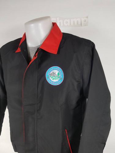 เสื้อแจ็คเก็ตไมโครไทยตัดต่อสี 2