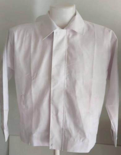 เสื้อแจ็คเก็ตผ้าค้อมทวิว 2 ชั้นซับร่มครึ่งตัวหน้า 4