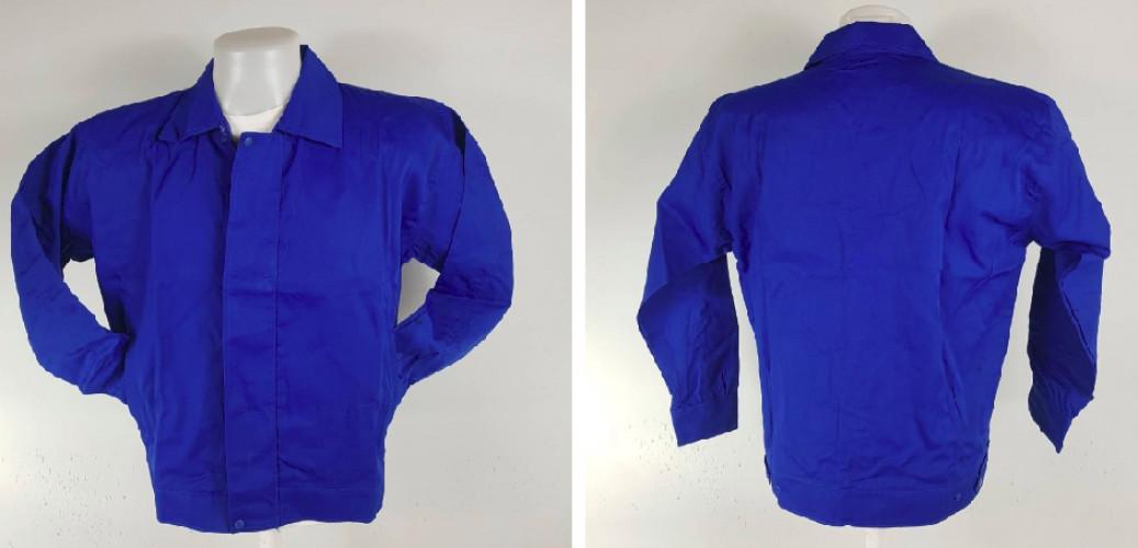 เสื้อแจ็คเก็ตผ้าค้อมทวิว 2 ชั้นซับร่มครึ่งตัวหน้า 3