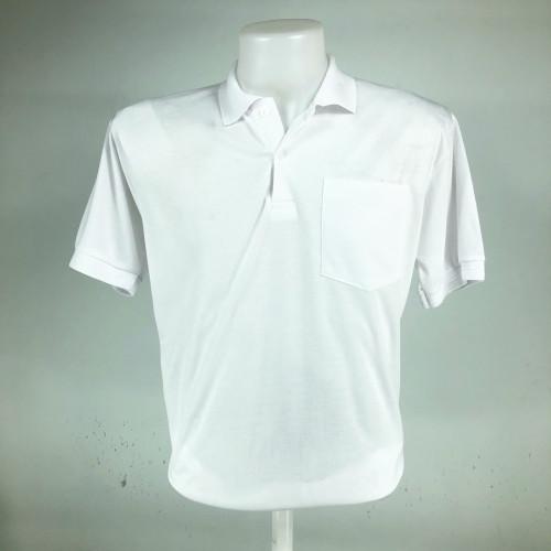 [โปรโมชั่น] เสื้อคอปกโปโลผ้า ที ซี . ราคาถูก สำหรับแจกลูกค้า แจกพนักงาน