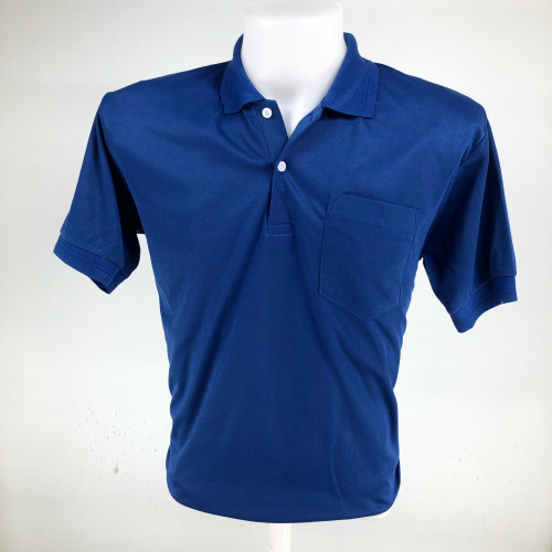 [โปรโมชั่น] เสื้อคอปกโปโลผ้า ที ซี . ราคาถูก สำหรับแจกลูกค้า แจกพนักงาน 1