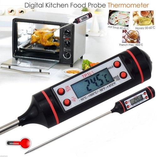 เครื่องวัดอุณหภูมิ เทอร์โมมิเตอร์ แบบแท่ง วัดน้ำมันทอด วัดอุณหภูมิในอาหาร 1