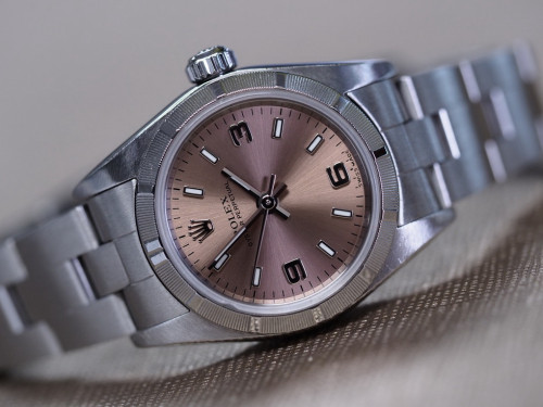 Rolex 76030 Oyster perpetual แชมเปญ 369