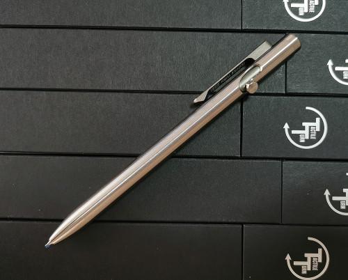 ปากกา Tactile Turn Titanium Slim Bolt Action Pen, Standard (10-SB1-TTM-TTM)