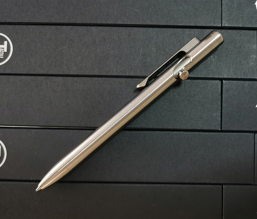 ปากกา Tactile Turn Titanium Slim Bolt Action Pen, Short (10-SB2-TTM-TTM)