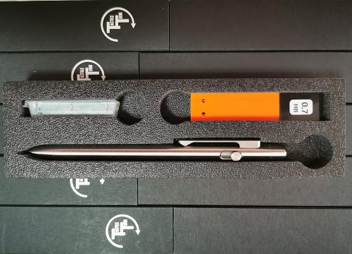 ดินสอ Tactile Turn Titanium Mechanical Pencil (11PN7-TTM-TTM) 1