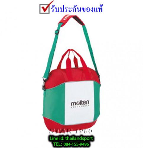 กระเป๋าใส่ ลูกวอลเลย์บอล มอลเทน molten รุ่น ev0054 (grw บรรจุ 4 ลูก) k+n