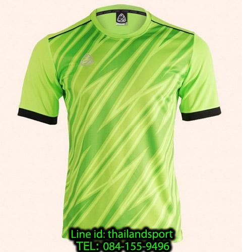 เสื้อ อีโก้ ego sport รหัส eg-5128 (สีเขียวสะท้อน) พิมพ์ลาย