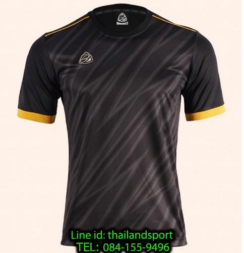 เสื้อ อีโก้ ego sport รหัส eg-5128 (สีดำ) พิมพ์ลาย