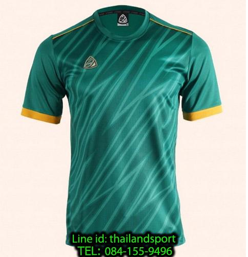 เสื้อ อีโก้ ego sport รหัส eg-5128 (สีเขียว) พิมพ์ลาย