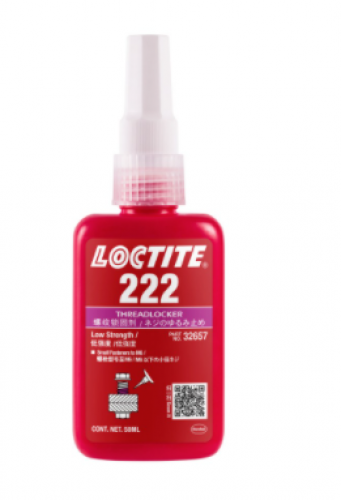 Loctite 222 Threadlocker Anaerobic Adhesive Purple 50ml Bottle