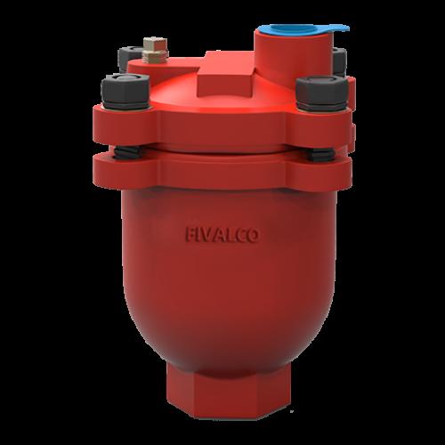 เเอร์เวนต์ระบายอากาศท่อดับเพลิง Diameter ท่อเข้า 1/2 นิ้ว รุ่น 9702 ตรา FIVALCO มาตฐาน
