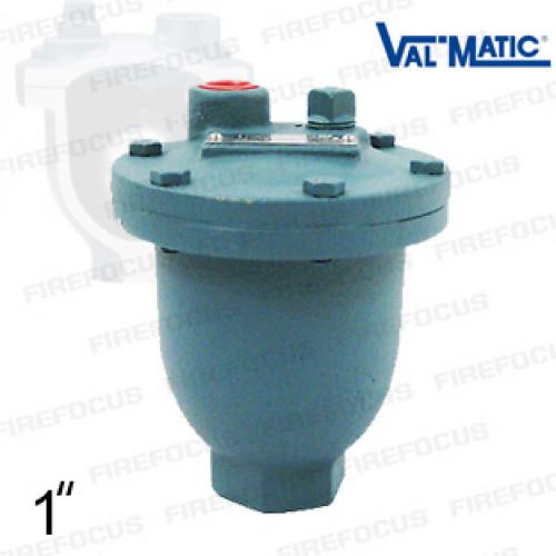 เเอร์เวนต์ระบายอากาศท่อดับเพลิง Diameter ท่อเข้า 1 นิ้ว รุ่น MV-15A ยี่ห้อ VALMATIC มาตฐาน UL/FM