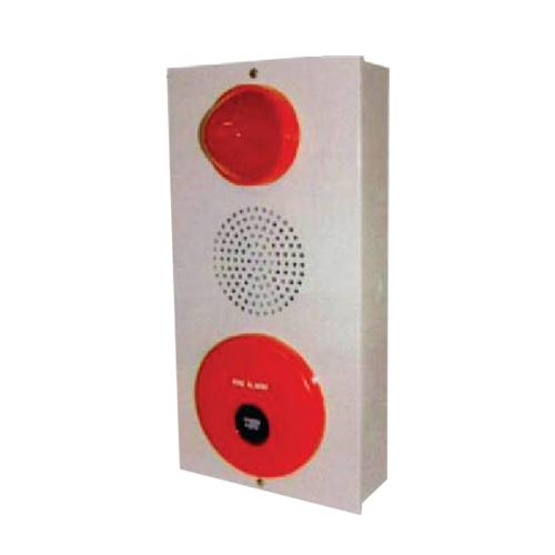 ตู้คอมไบเนชั้นใช้ไฟ 220VAC ประกอบด้วย กระดิ่ง ไฟโชว์ตลอด สวิทซ์แบบกด รุ่น YYPBL-2-220V ยี่ห้อ TYY