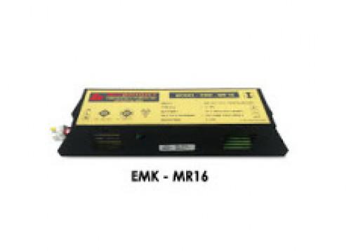 MAX BRIGHT Emergency Battery Pack 1 w.(Max) Battery 12V. 1200 mAh. Back-up 2 Hr. Model. EMK-MR16